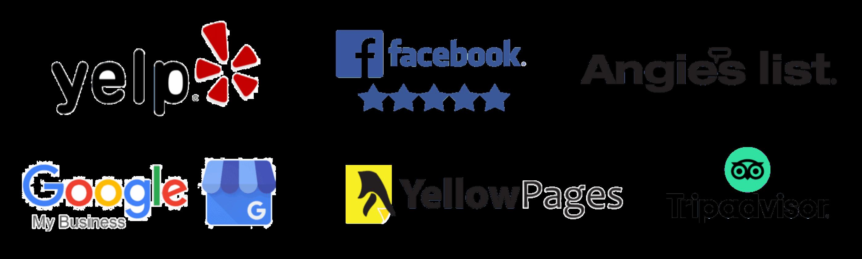 Review Site Logos