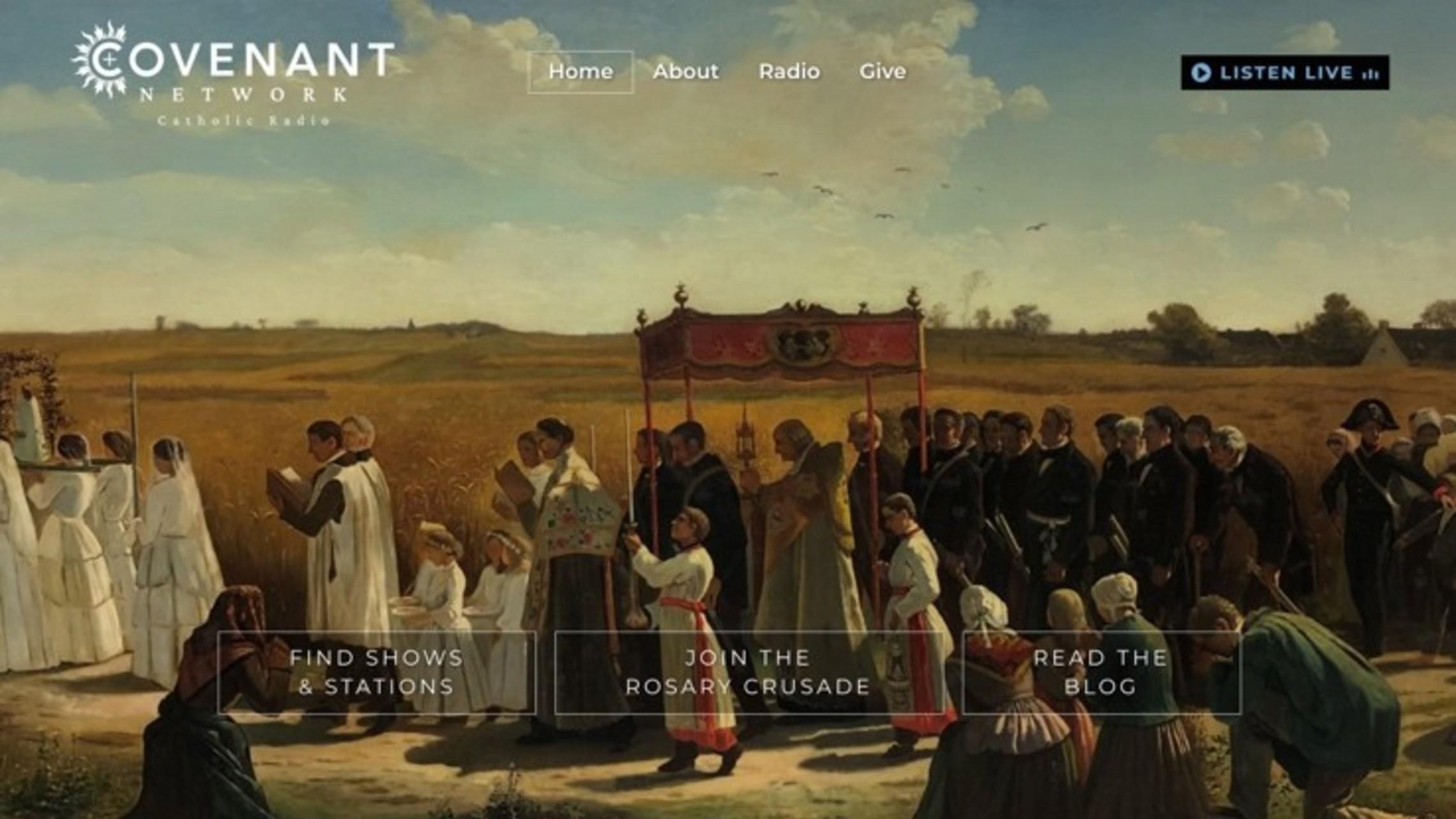 Covenant Network   Our Catholic Radio