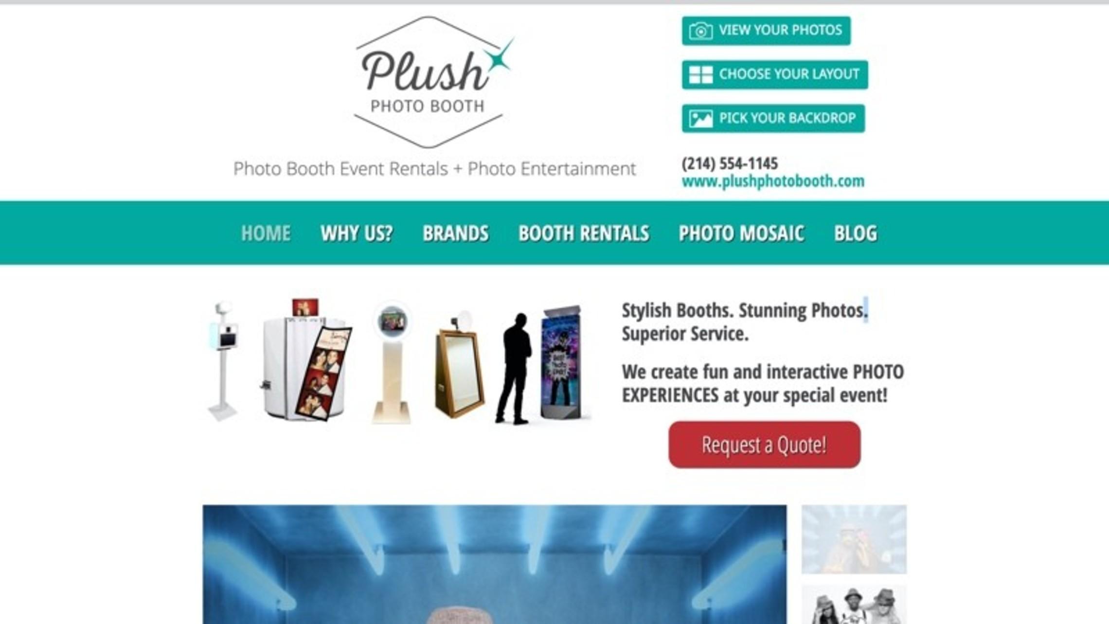 Plush Photo Booth